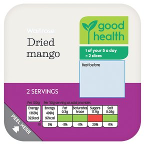 Waitrose Dried Mango