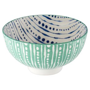 Waitrose Fusion Small Teal Bowl