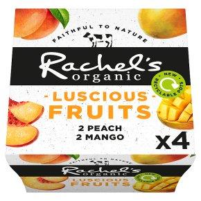 Rachel's luscious fruits peach & mango