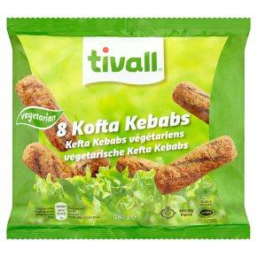 Tivall Vegetarian 8 Kofta Kebabs