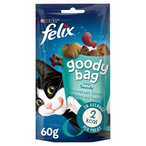 Felix Goody Bag Cat Treats Seaside Mix