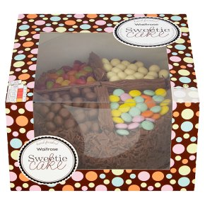 Fabulous Waitrose Chocolate Sweetie Cake Waitrose Partners Funny Birthday Cards Online Inifofree Goldxyz