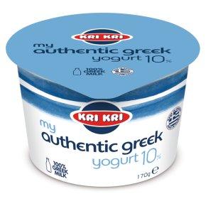 KRI KRI My Authentic Greek Yogurt 10%