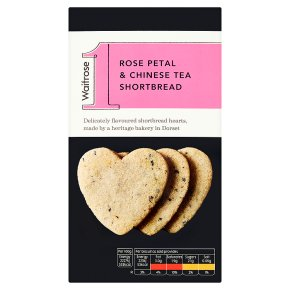Waitrose 1 rose petal & Chinese tea shortbread