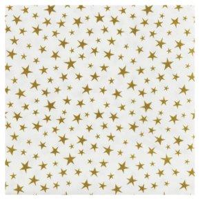 Waitrose Home Gold Star Napkins 33cm x 33cm