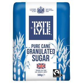 Tate & Lyle Fairtrade granulated sugar