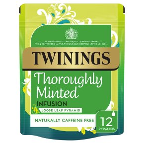 Twinings thoroughly minted 12 pyramids