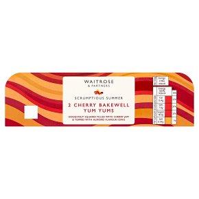 Waitrose Cherry Bakewell Yum Yums