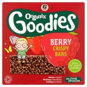 Organix Goodies Berry Crispy Bars