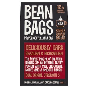 Bean Bags 10 Deliciously Dark Coffee Bags