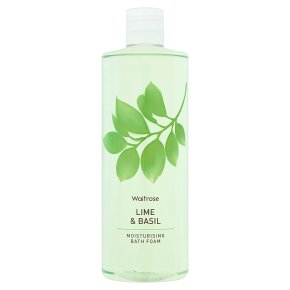 Waitrose Bath Foam Lime & Basil