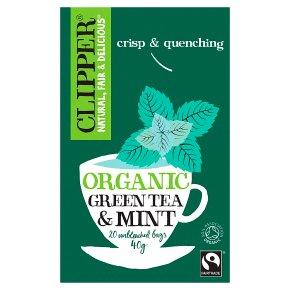 Clipper Green Tea & Mint 20s
