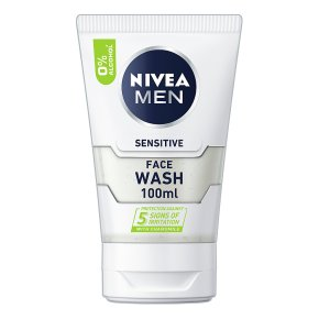Nivea for Men face wash, sensitive