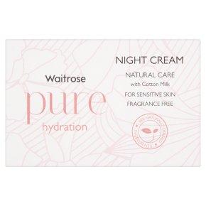 Waitrose Pure Night Cream