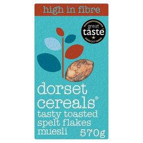 Dorset Cereals Tasty Toasted Spelt Flakes Muesli