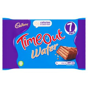 Cadbury Timeout Wafer Chocolate Biscuit Bar