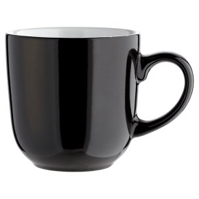 essential Waitrose black mug