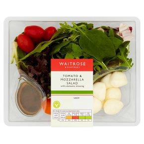 Waitrose Tomato & Mozzarella Side Salad