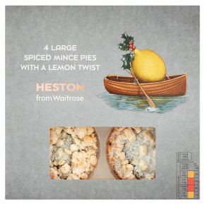Heston from Waitrose spiced mince pies with lemon
