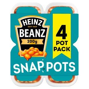 Heinz Beanz Snap Pots