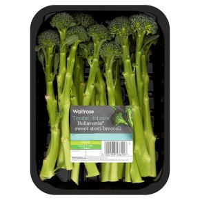 Waitrose bellaverde sweet stem broccoli