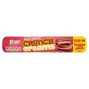 Fox's Red Velvet Crunch Creams