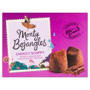 Monty Bojangles Choccy Scoffy Cocoa Dusted Truffles