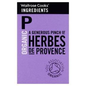 Waitrose Cooks' Ingredients organic herbs de provence