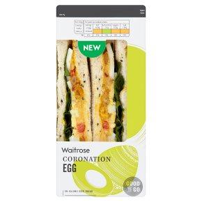 GOOD TO GO Coronation Egg Sandwich