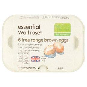 essential Waitrose mixed weight British free range eggs