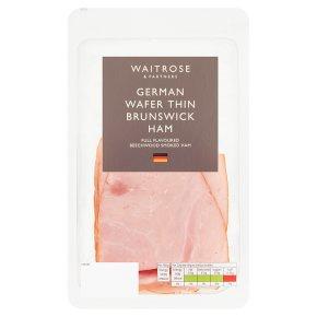 Waitrose Wafer thin Brunswick Ham