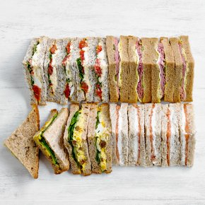 Luxury Mixed Sandwich Platter, 24 pieces