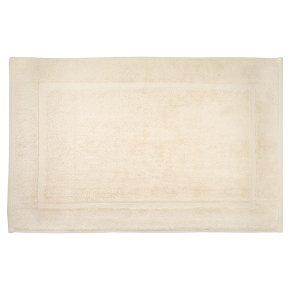 Waitrose Home Egyptian cotton ivory bath mat