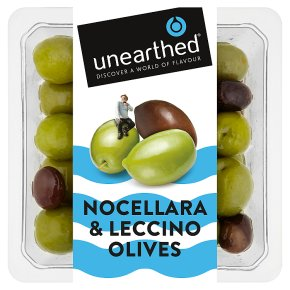 Unearthed Nocellara & Leccino Olives