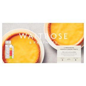 Waitrose Frozen 2 tartes au citron