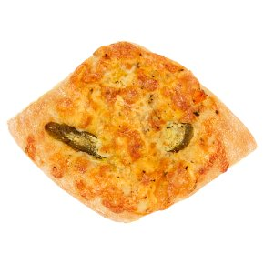 Cheese & Jalapeno Pepper Focaccia