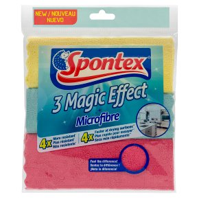 Spontex Magic Effect Microfibre Cloths