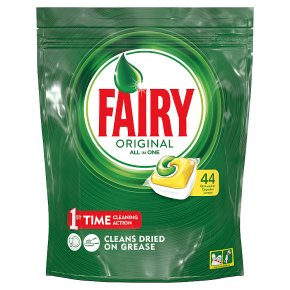 Fairy 44 All in One Capsules Lemon