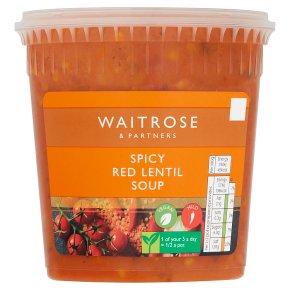 Waitrose Spicy Red Lentil Soup