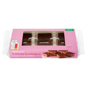 Waitrose chocolate tiffin