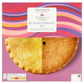 Waitrose Blackcurrant Pie