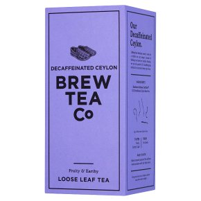 Brew Tea Co CO2 Decaffeinated Proper Loose Leaf