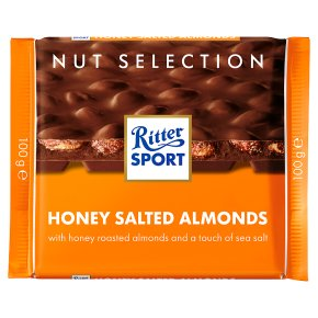 Ritter Sport Honey Salt Almonds