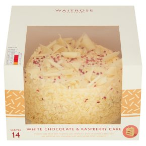 Waitrose White Chocolate Cake
