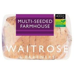 Waitrose Multiseed Farmhouse Loaf
