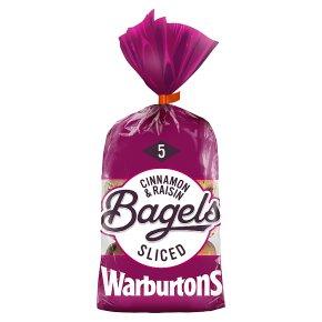 Warburtons Cinnamon Raisin Bagels