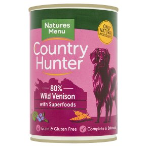 Country Hunter Venison with Fruit & Veg