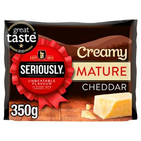 Seriously Creamy Mature Cheddar