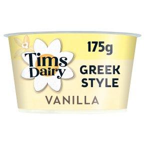 Tims Dairy Greek Style Yogurt with Vanilla