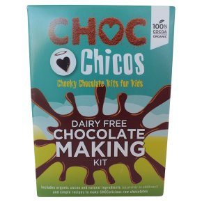 Choc Chicos Organic chocolte making kit